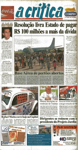 7f66789422197 Jornal A Critica - Edição 1151- 19 10 2003 by JORNAL A CRITICA - issuu