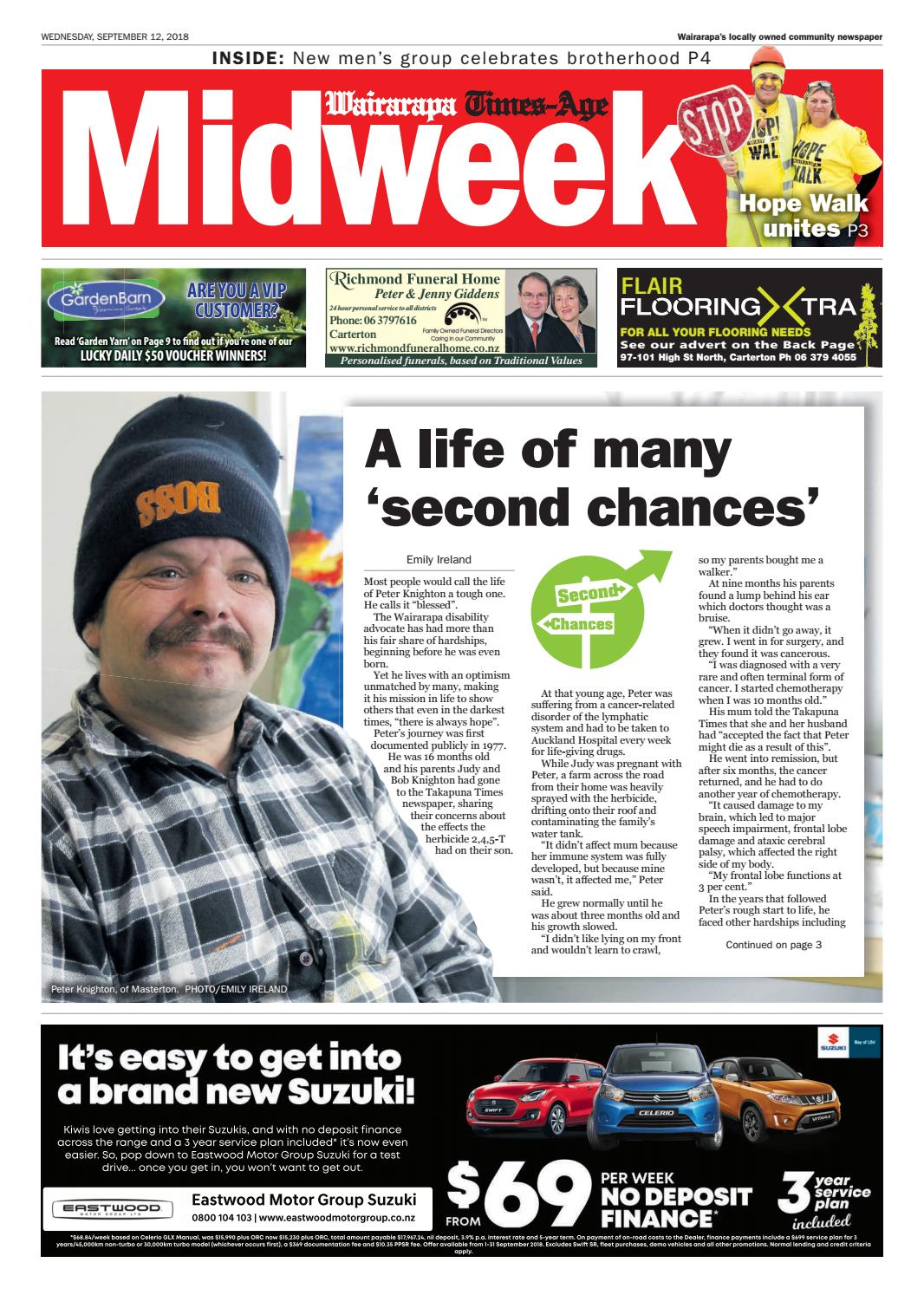 aed73203f0ac4 Wairarapa Midweek Wed 12th Sept by Wairarapa Times-Age - issuu