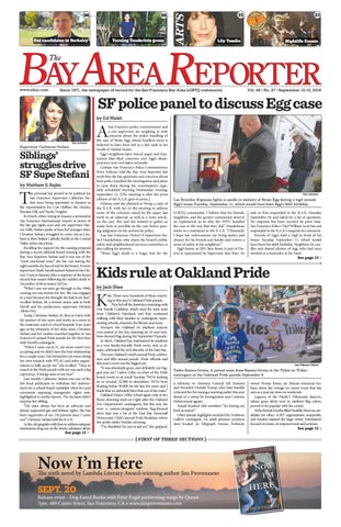 September 13 2018 Edition Of The Bay Area Reporter By Bay Area