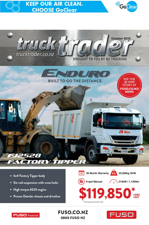 Truck Trader October 2018 by NZTrucking - issuu