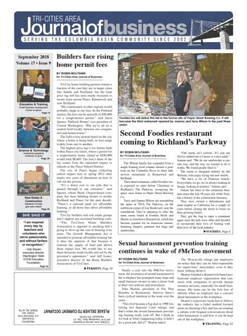 Tri-Cities Area Journal of Business -- September 2018 by Tri