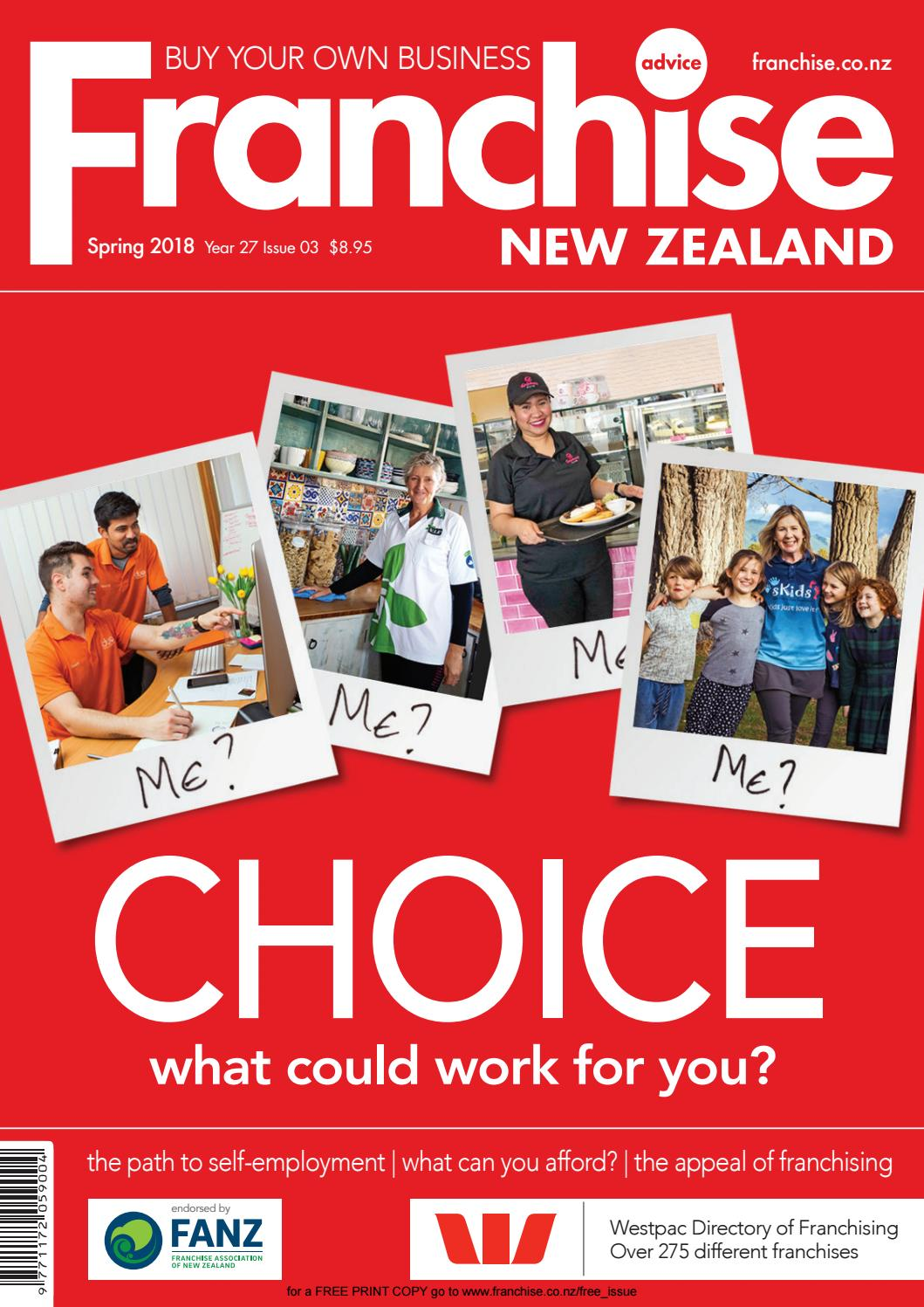 f06df878c Franchise New Zealand - Year 27 Issue 03 – Spring 2018 by Franchise New  Zealand - issuu
