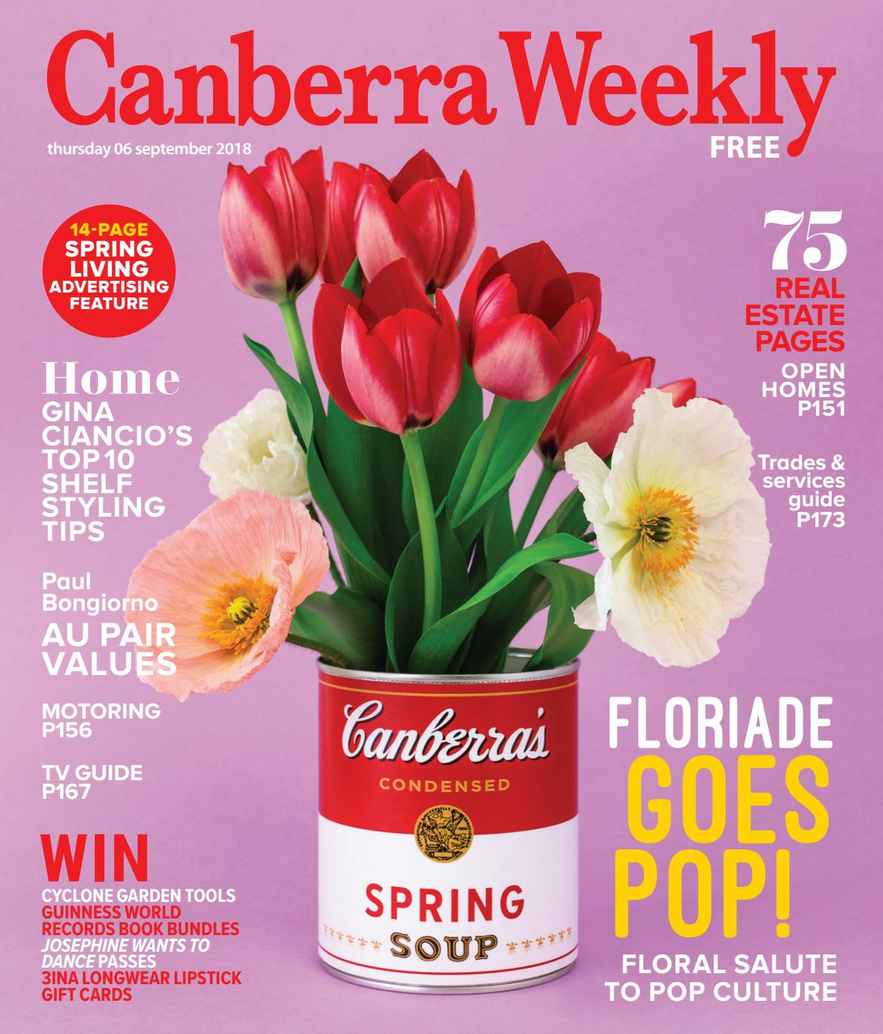 06 September 2018 by Canberra Weekly Magazine - issuu