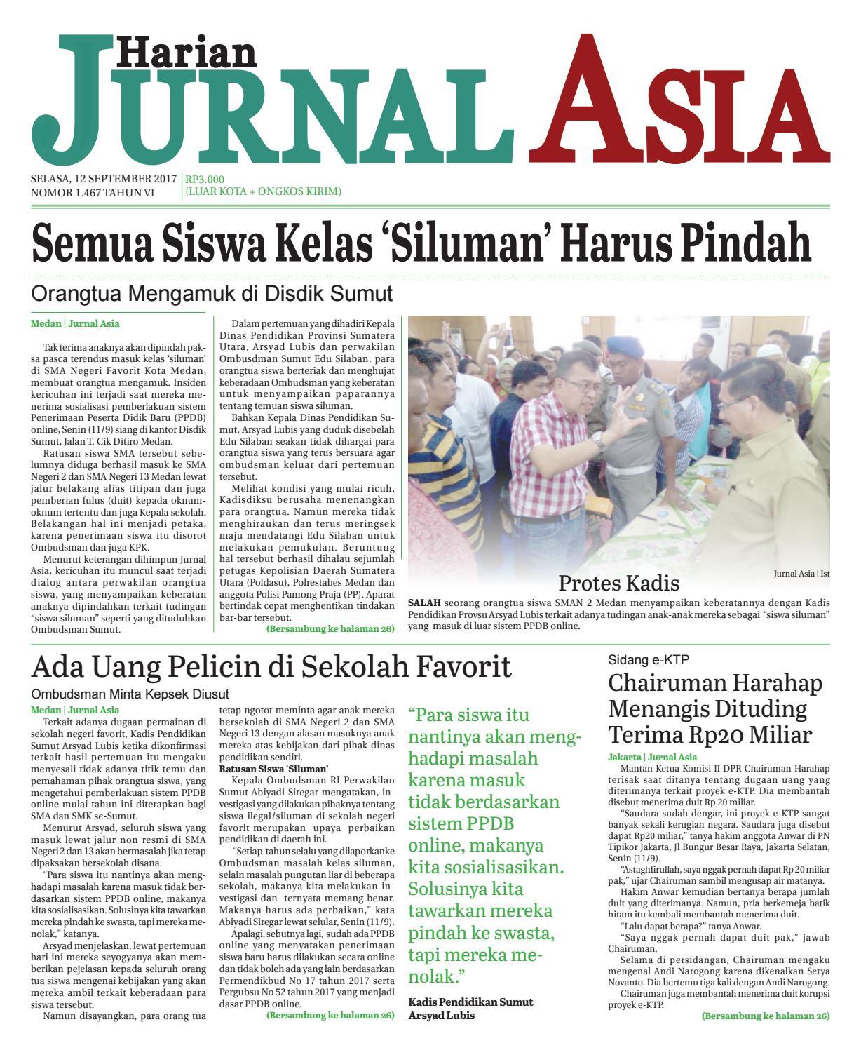 Harian Jurnal Asia Edisi Rabu 3dee854a52