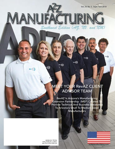 A2Z Magazine SW Edition Sept 2018 by A2Z Manufacturing