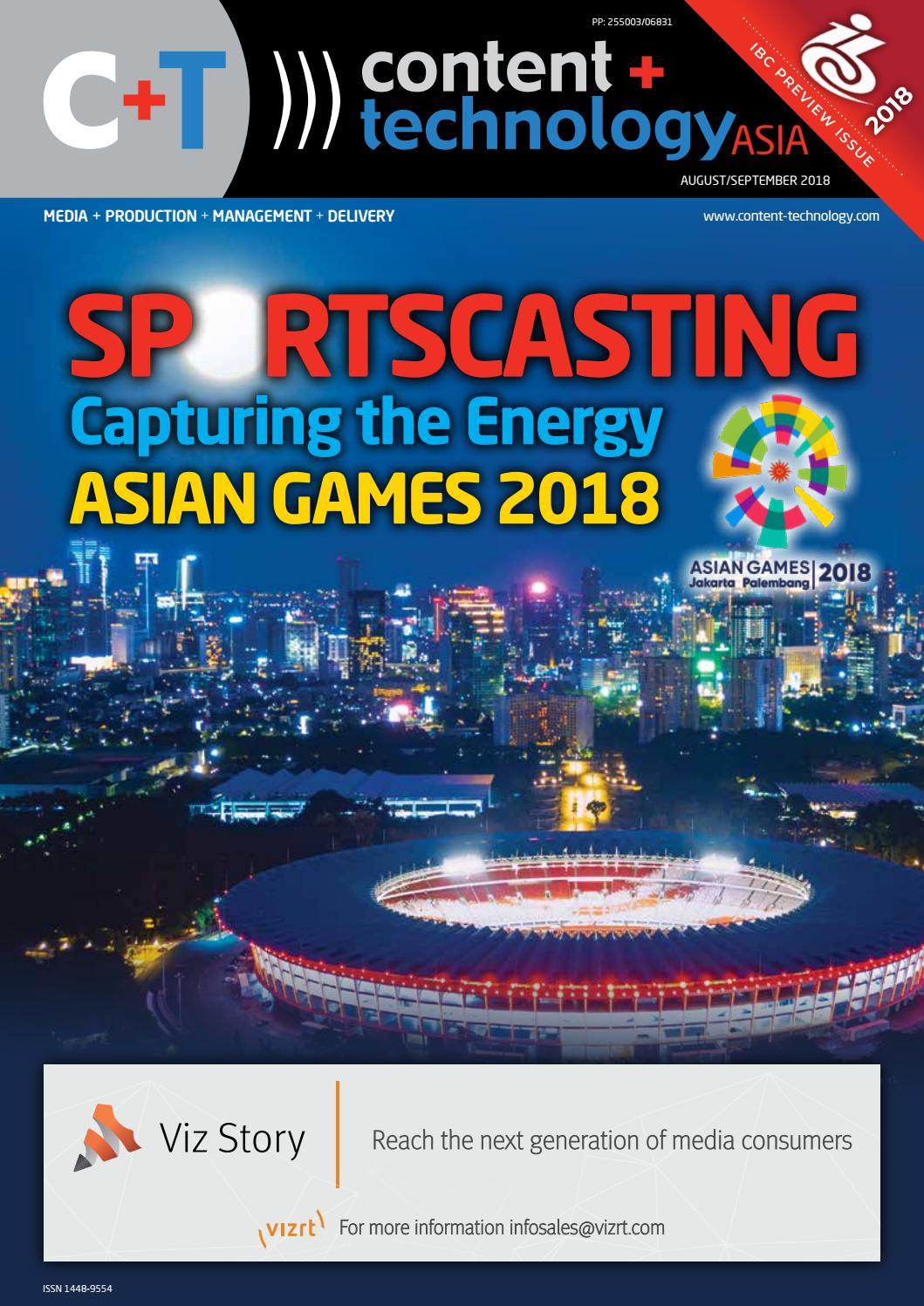 Content Technology ASIA August September 2018 By