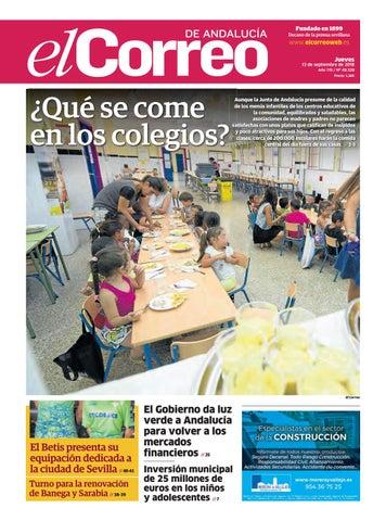 fb6cbea39 13.09.2018 El Correo de Andalucía by EL CORREO DE ANDALUCÍA S.L. - issuu