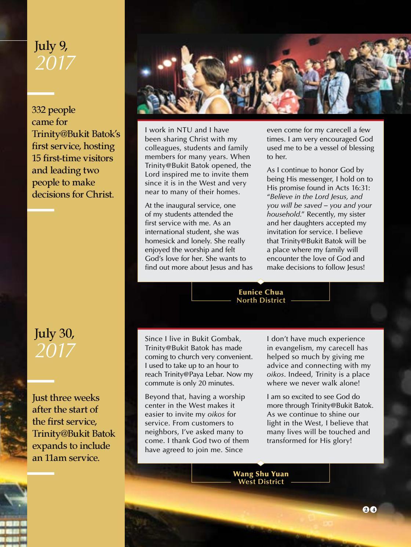 Trinitarian Magazine Issue 3/2018 by Trinity Christian