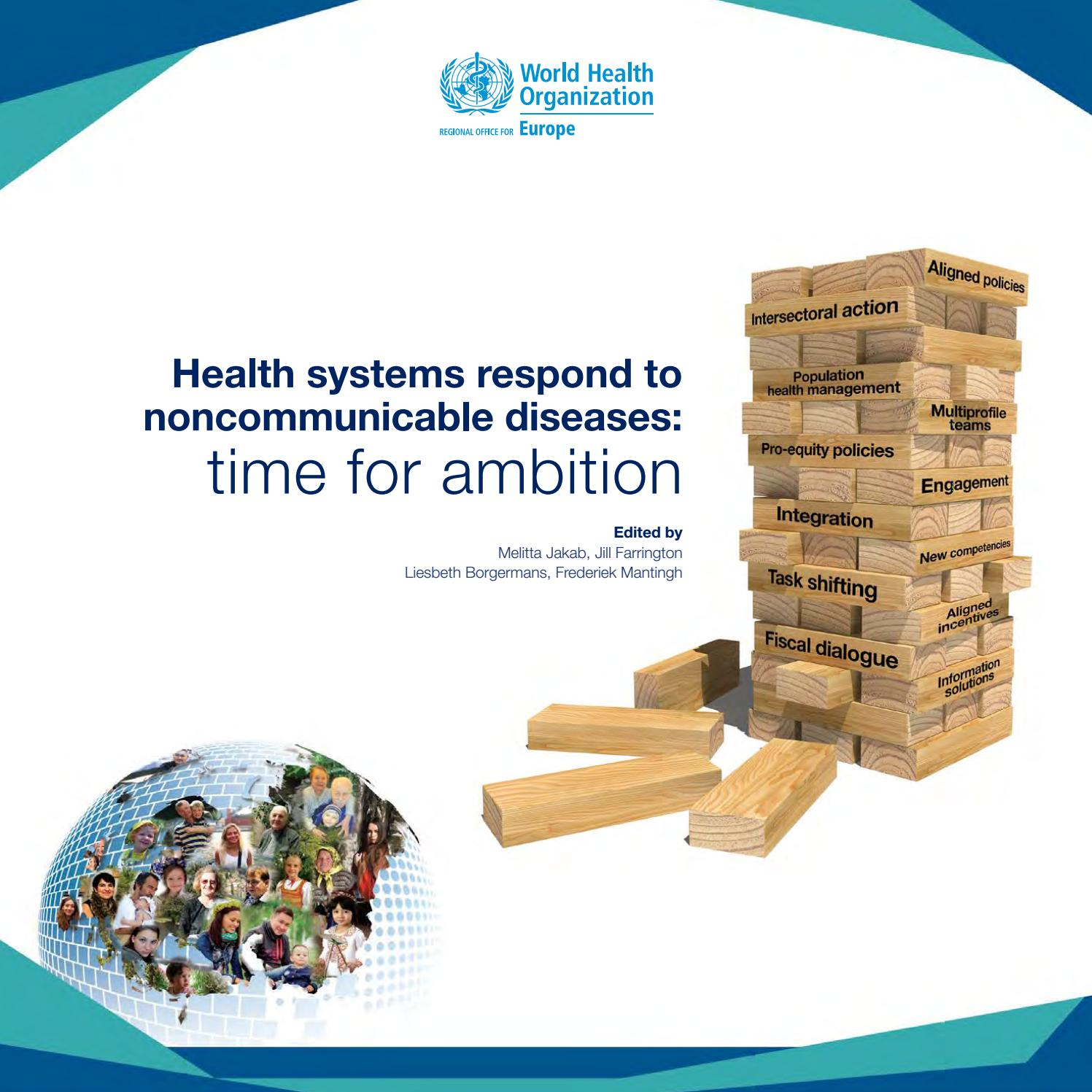 Must Read Ncd Response To Controversial >> Health Systems Respond To Noncommunicable Diseases Time For