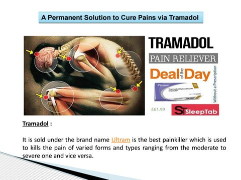 Page 3 of A Permanent Solution to Cure Pains via Tramadol