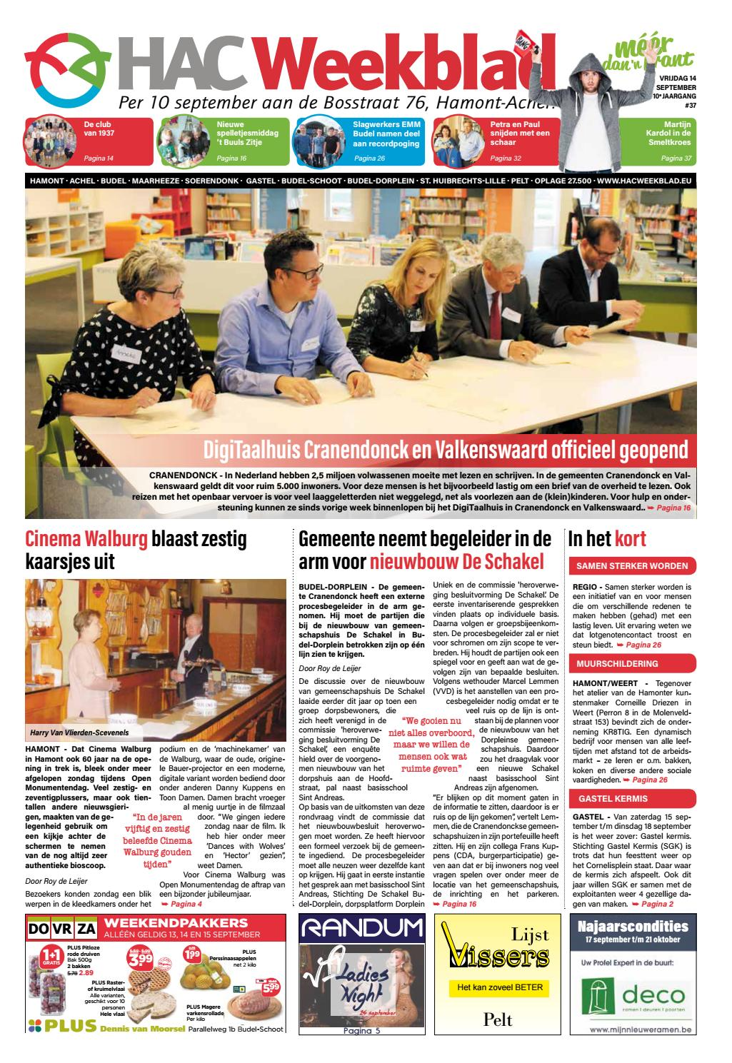 cf00f2ad892089 HAC Weekblad week 37 2018 NL by HAC Weekblad - issuu