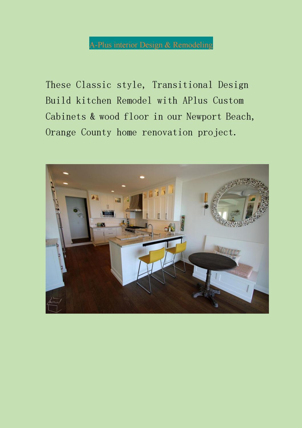 Irvine Kitchen Remodeling By Alex Tabrizi Issuu