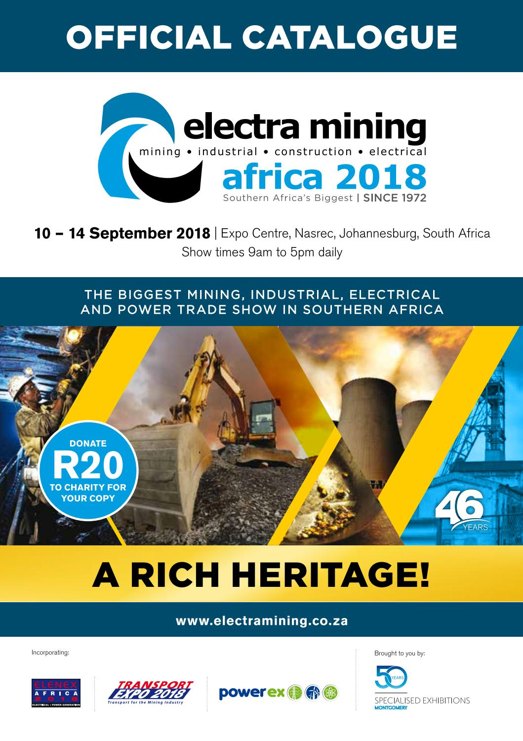 electra mining africa 2018 by new media publishing b2b issuu rh issuu com