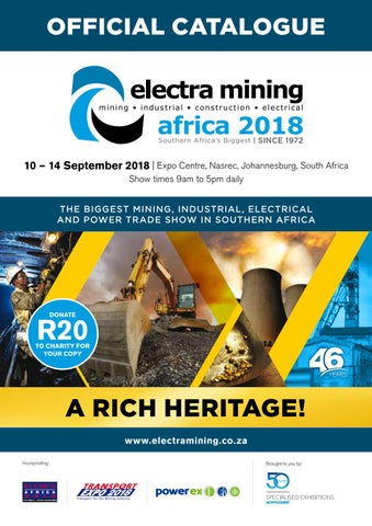 Electra Mining Africa 2018 by New Media B2B - issuu