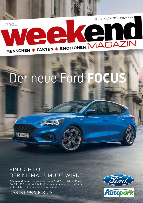 Weekend TIrol KW362018 by WEEKEND MAGAZIN TIROL issuu