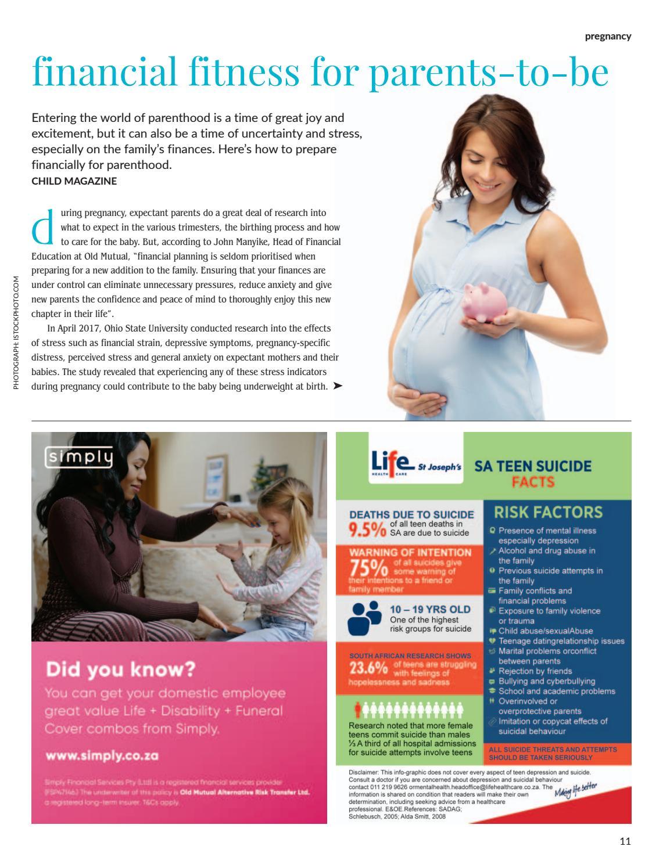 Child magazine | DBN October/November 2018 by Hunter House