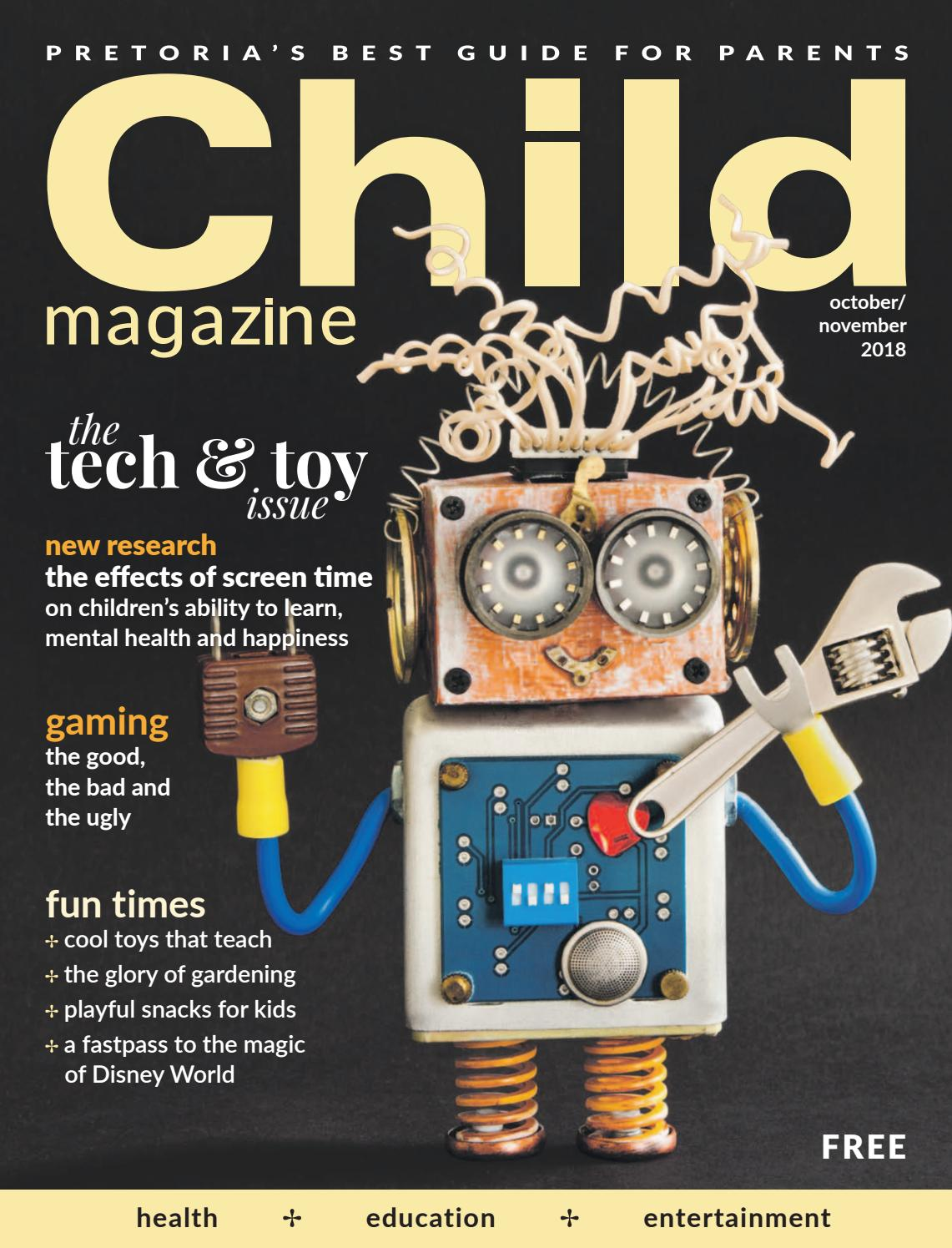 Child magazine | PTA October/November 2018 by Hunter House