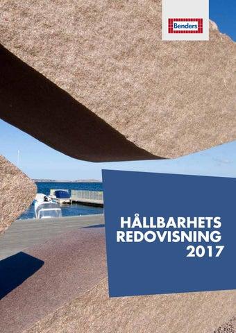 KMA Hållbarhetsredovisning 2017 by Benders Sverige AB - issuu 2d48b9c58213d