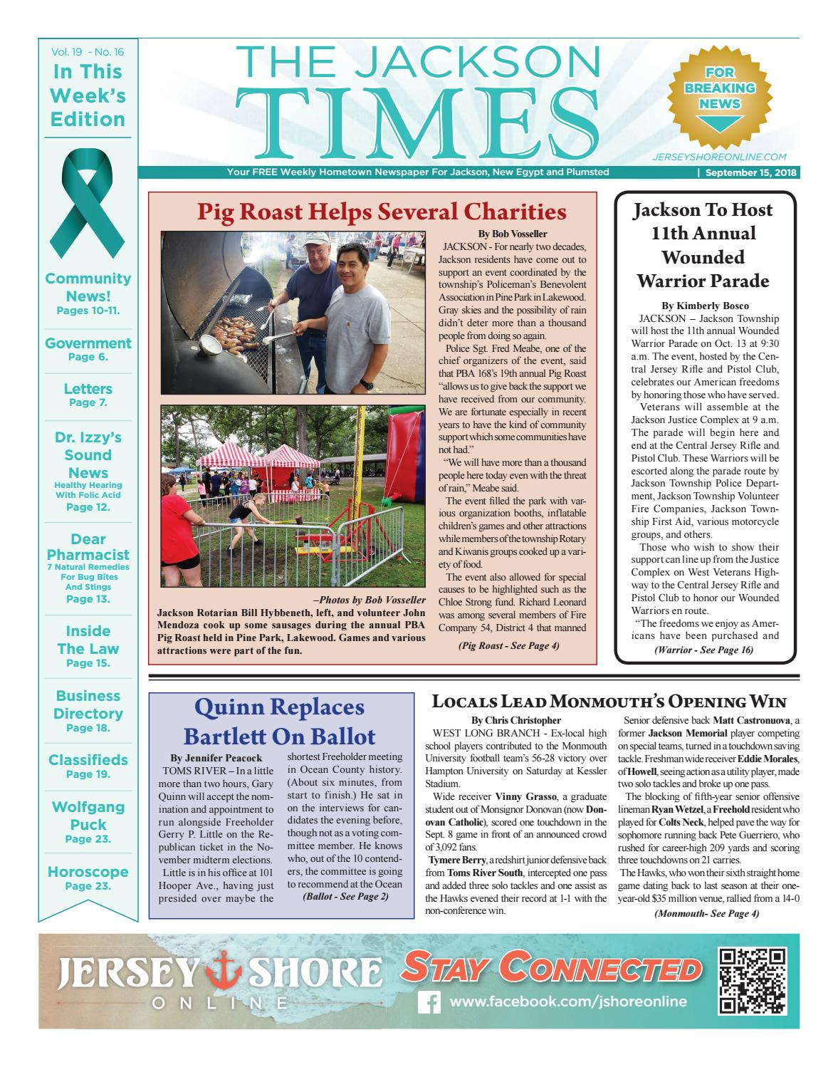 2018-09-15 - The Jackson Times by Micromedia Publications