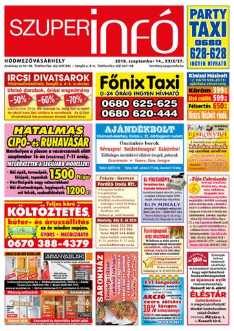 b2d2a2f63c 2018. szeptember 14. by Hódmezővásárhelyi Szuperinfó - issuu