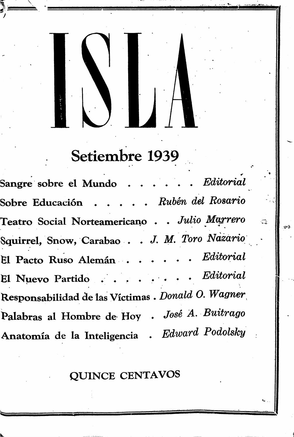 Isla by Colección Puertorriqueña UPR RP - issuu