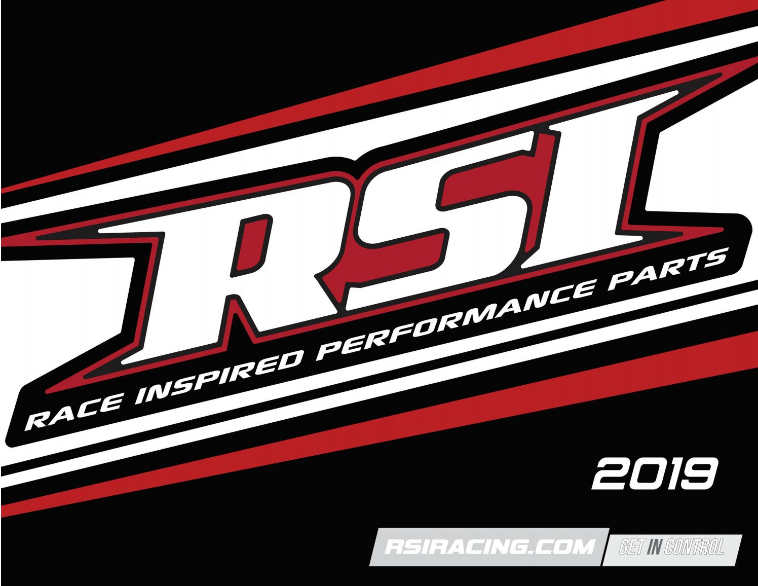 Race Shop Pivoting Handlebar Riser 4 PR-4-G RSI Racing