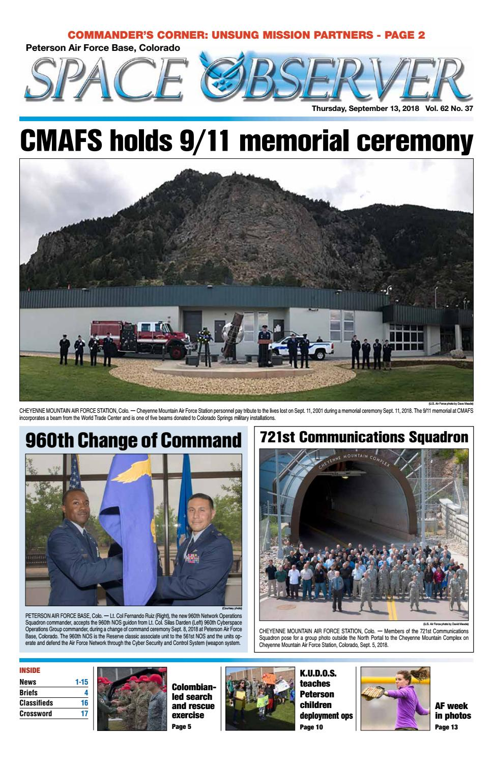 Peterson Space Observer Sept 13 2018 By Colorado Springs Military