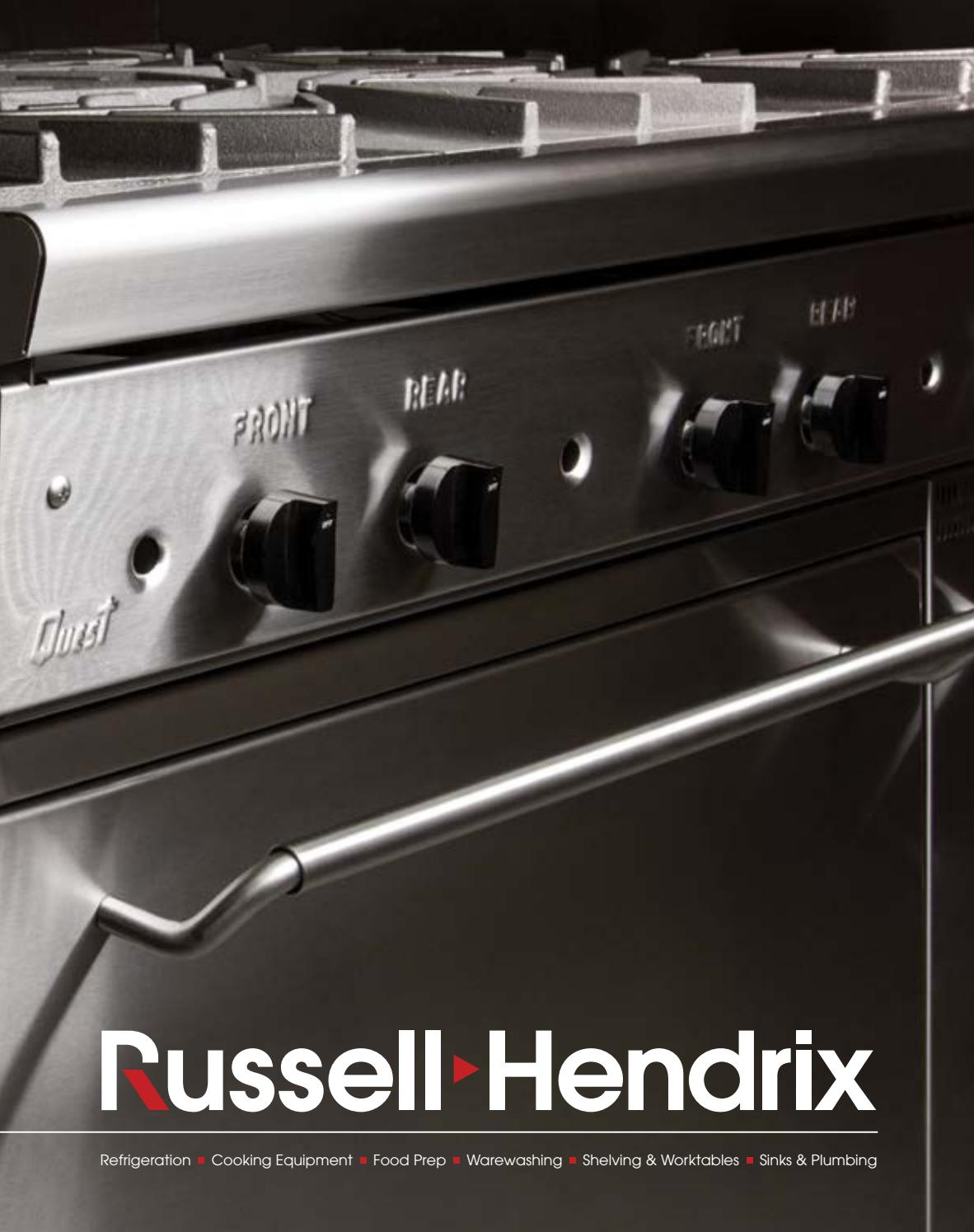 2018-2019 Equipment Catalogue by Russell Hendrix Foodservice Equipment &  Supplies - issuu