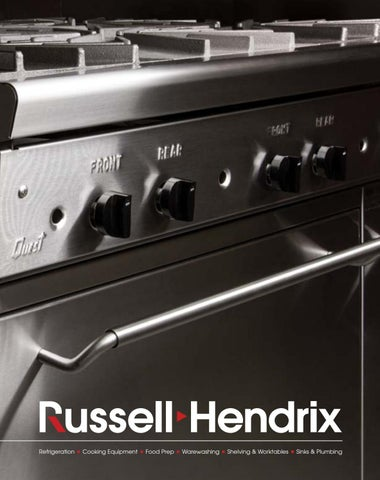 2018-2019 Equipment Catalogue by Russell Hendrix Foodservice ... on