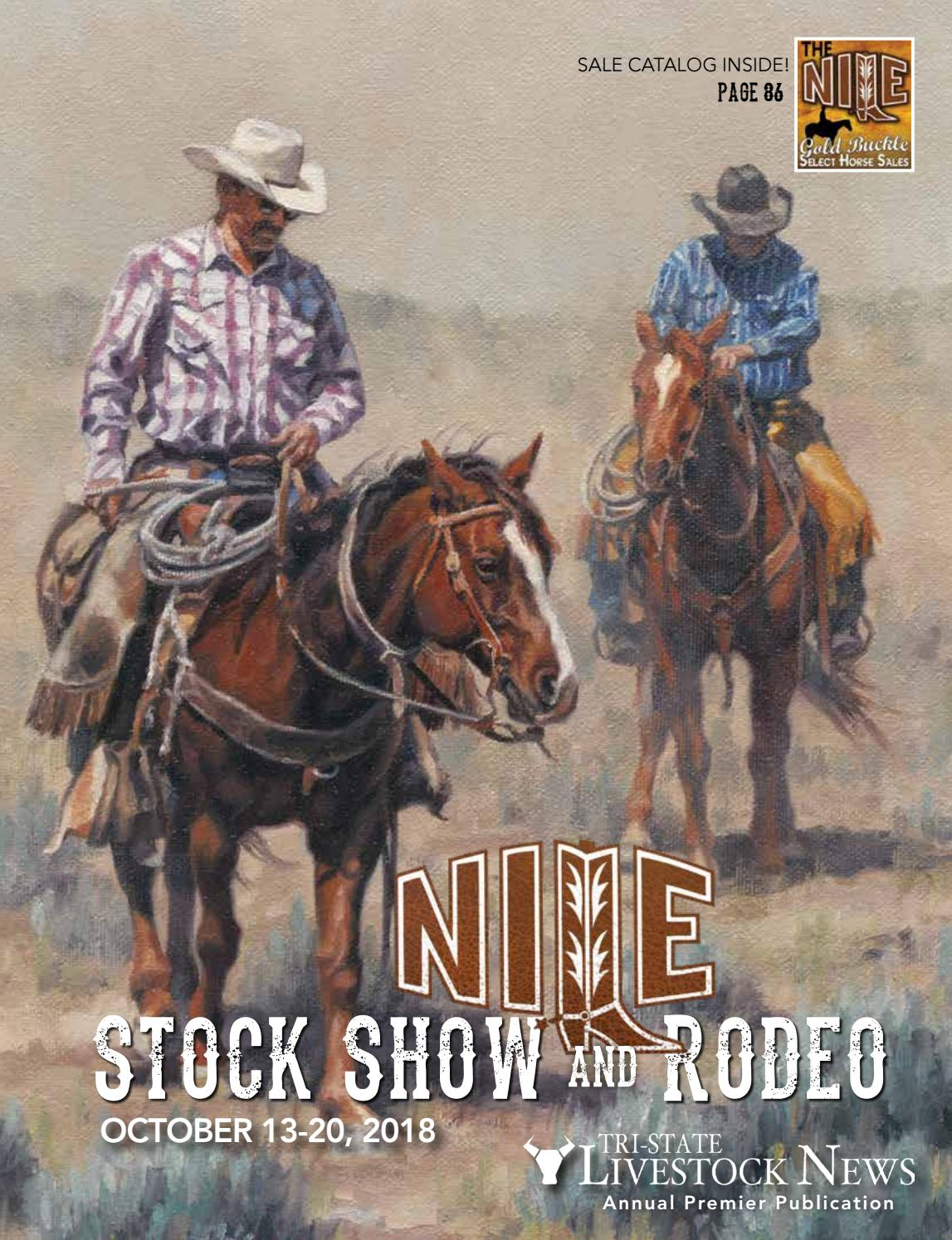 NILE Stock Show and Rodeo 2018 by Tri-State Livestock News - Farmer &  Rancher Exchange - issuu