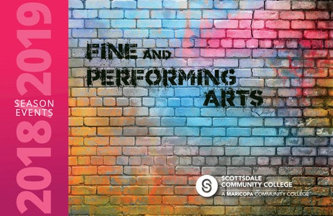 Scottsdale Community College - Fine & Performing Arts 2018