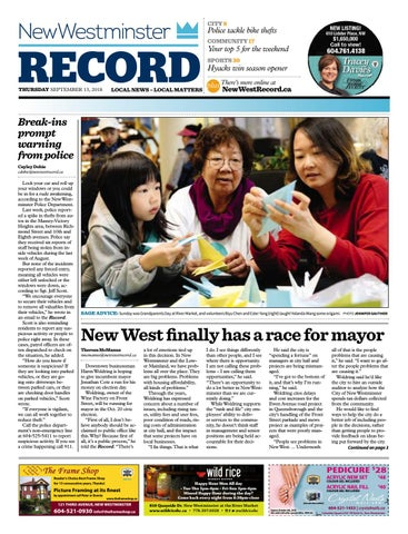 New Westminster Record September 13 2018 by Royal-City-Record - issuu