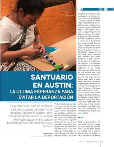 Page 7 of Santuario en Austin: La última esperanza para evitar la deportación