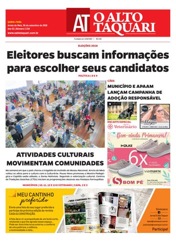 Jornal O Alto Taquari - 06 de setembro de 2018 by Jornal O Alto ... d0da0c0ef056a