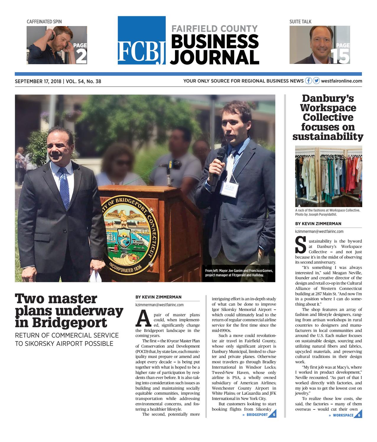 Fairfield County Business Journal 091718 by Wag Magazine - issuu 28544255e59d