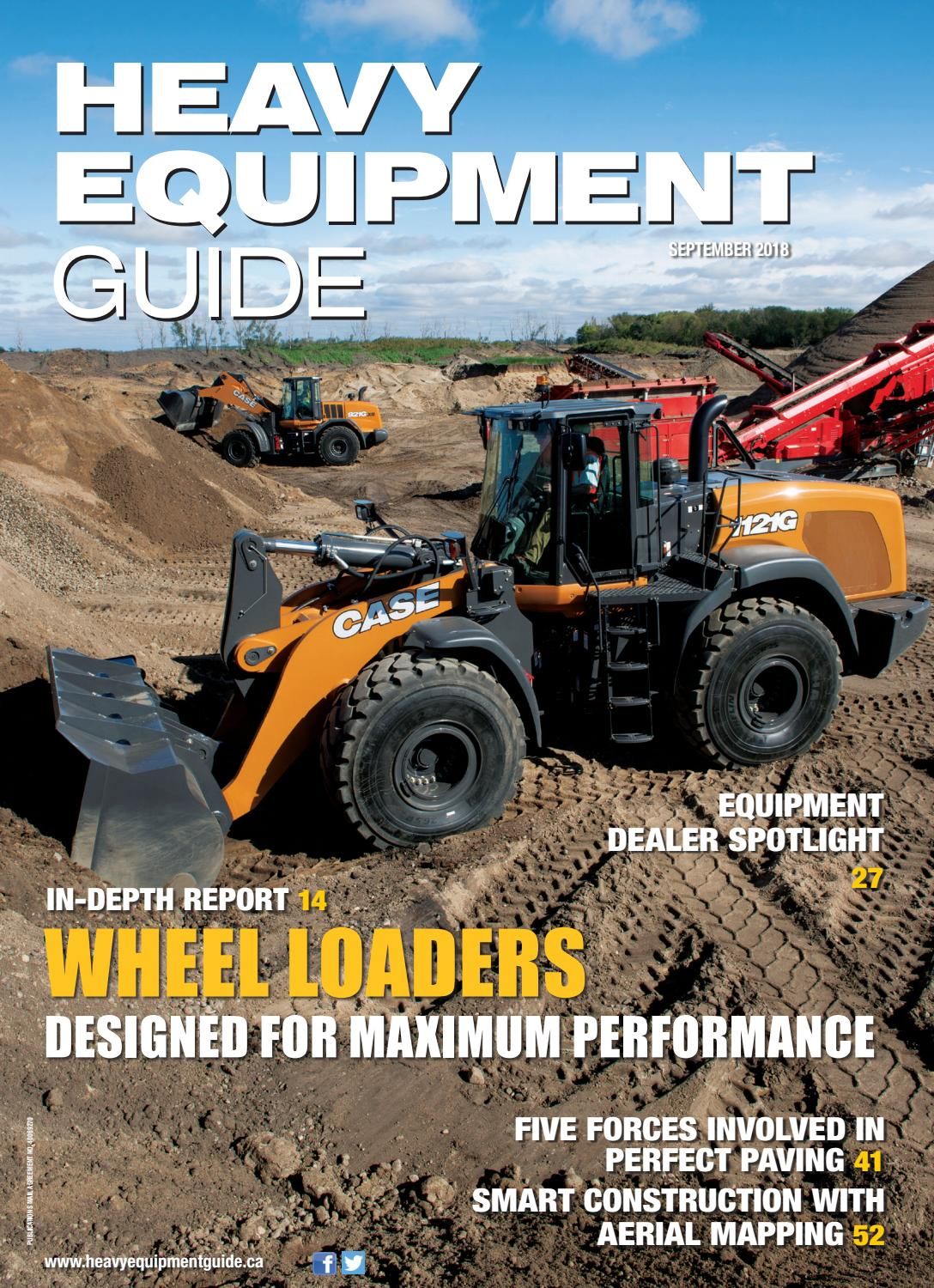 Heavy Equipment Guide September 2018 Volume 33 Number 8 By Baum Alliance And Genie Antenna Rotator Rotor Control Boxes Publications Ltd Issuu