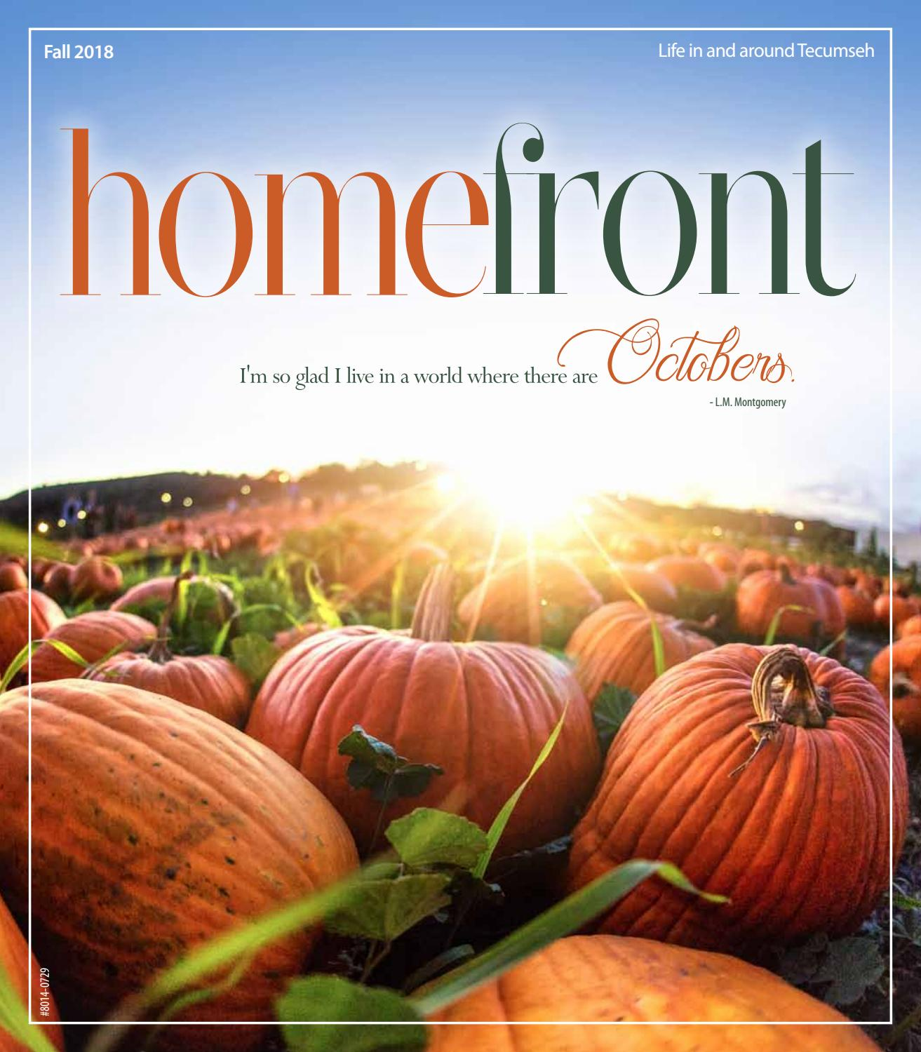 2018 Fall Homefront by Tecumseh Homefront issuu