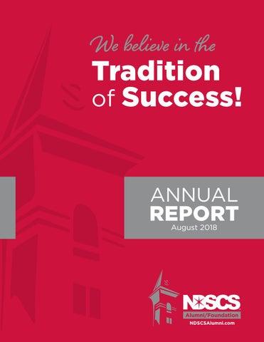 NDSCS Alumni Foundation 2018 Annual Report by North Dakota