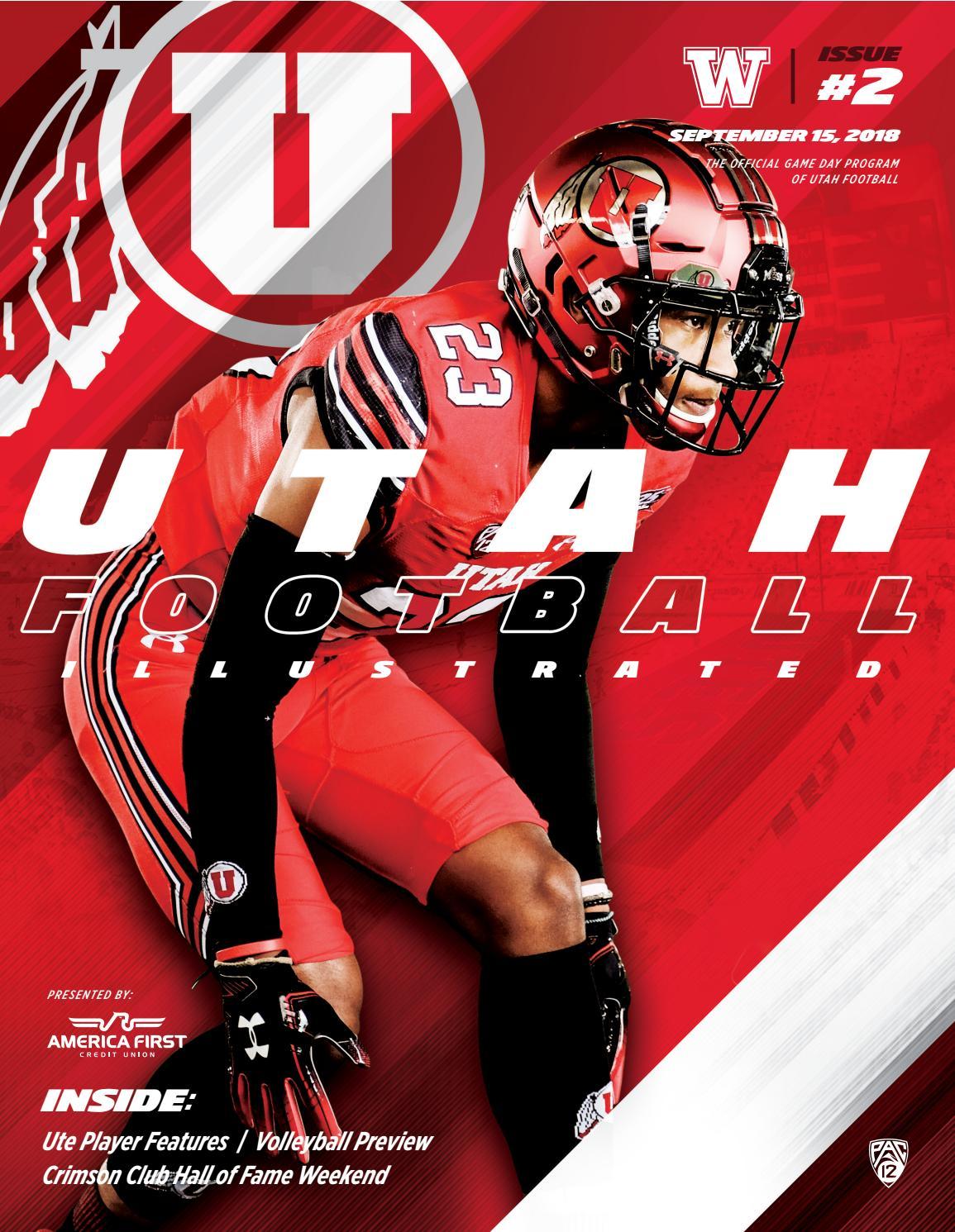 27d479962bb Utah Football vs. Washington by Mills Publishing Sports - issuu