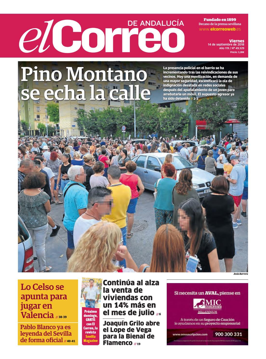 efc2950e1b0e 14.09.2018 El Correo de Andalucía by EL CORREO DE ANDALUCÍA S.L. - issuu