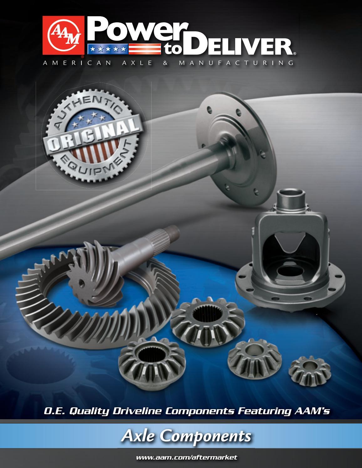 GM OEM Axle Housing-Rear-Cover Gasket 12471447
