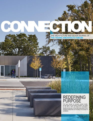YAF CONNECTION 16 01 by Young Architects Forum - issuu