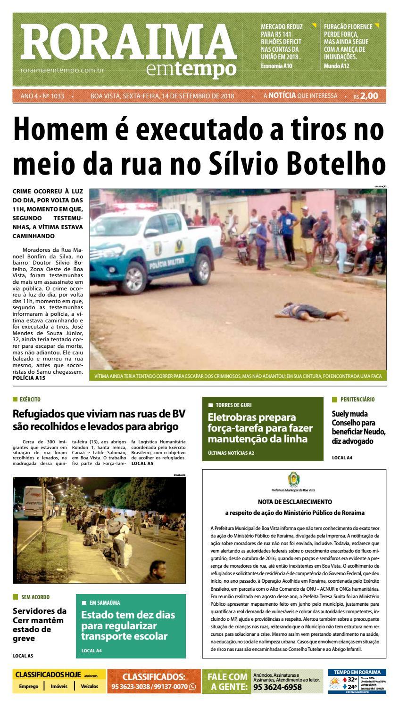 Jornal Roraima em tempo – edição 1033 by RoraimaEmTempo - issuu b08b5f76df