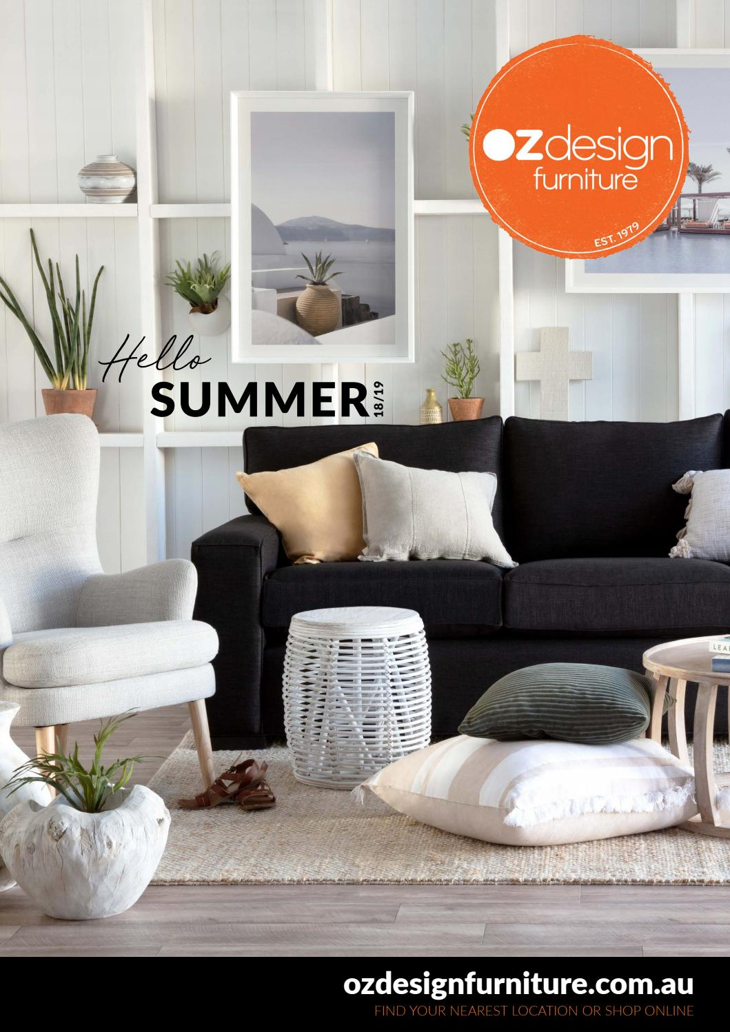 Hello Summer 18 19 Oz Design Furniture By