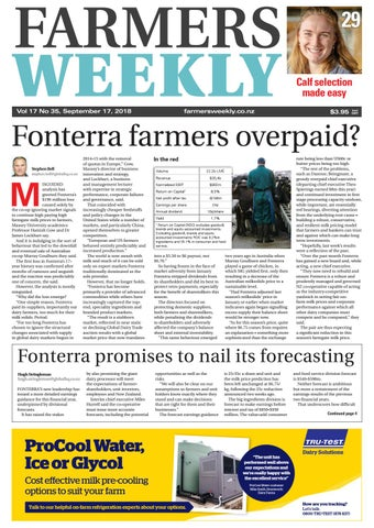 9c4461148a Farmers Weekly NZ September 17 2018 by Farmers Weekly NZ - issuu