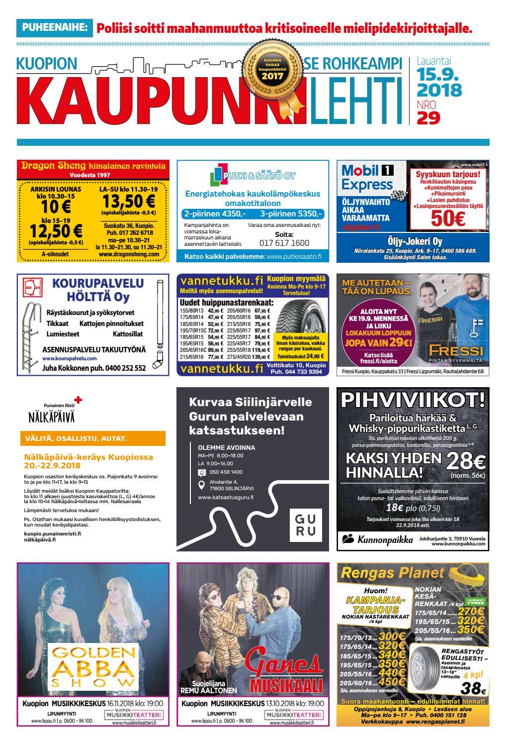 Kuopion Kaupunkilehti 15.9.2018 by Kuopion Kaupunkilehti - issuu efb726a5af