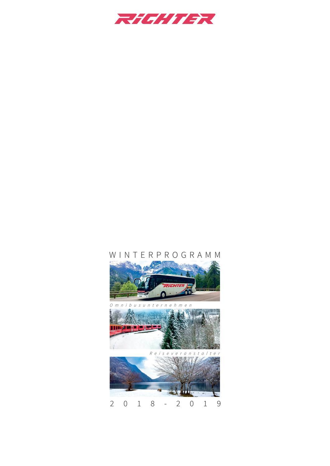 Richter Reisen Winterkatalog 2018-2019 by Frank Jaskiela - issuu