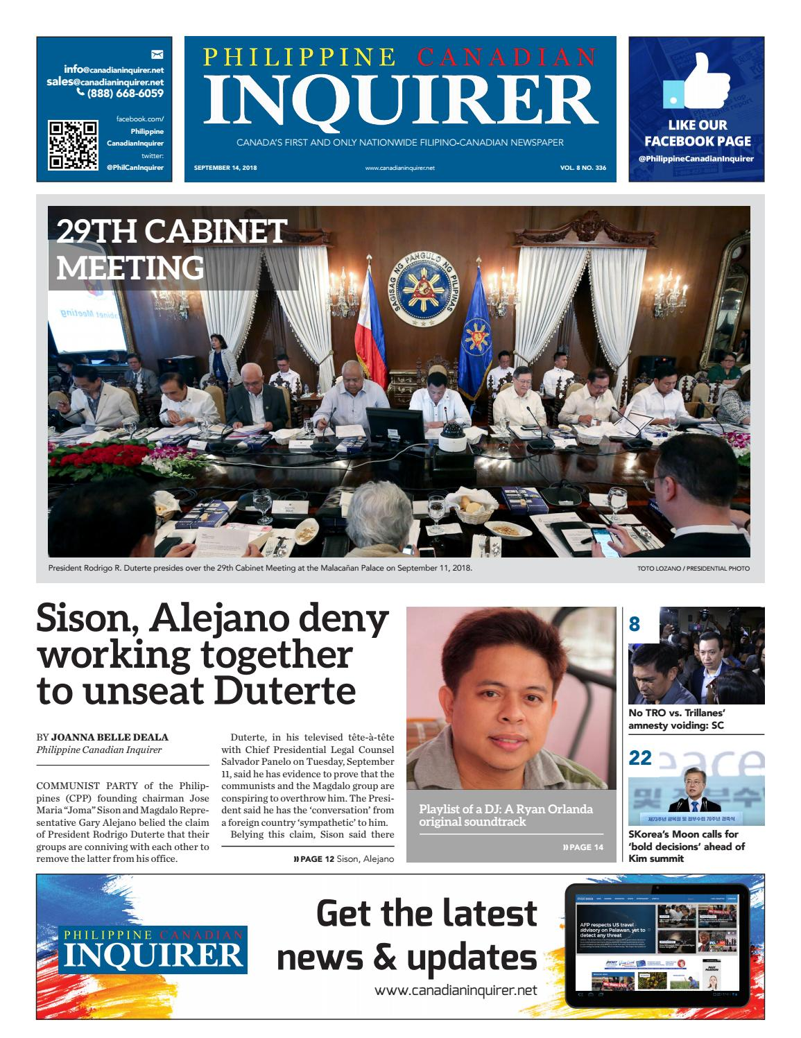 f47fe14b6d0 Philippine Canadian Inquirer  337 by Philippine Canadian Inquirer - issuu