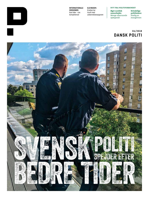 DANSK POLITI 04 2018 by Danskpoliti - issuu 0765151791