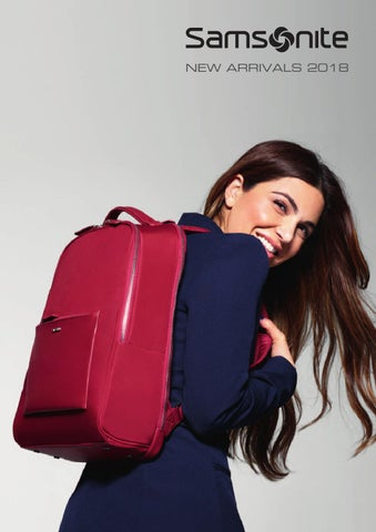 4b97585a39 Samsonite New Arrivals 2018 by Reklamegaver AS - issuu